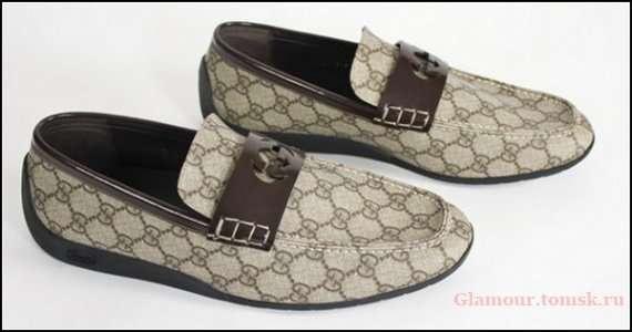 Туфли Gucci с карбоновыми вставками