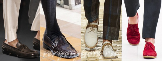 Мужские туфли весна-лето 2014