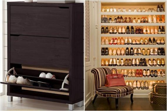 ТОП-10 тумбочек и шкафов для хранения обуви