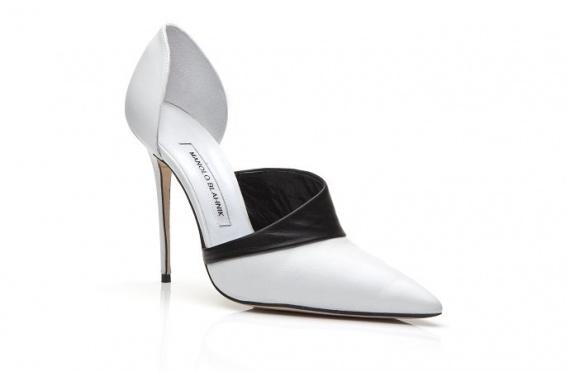Виктория Бэкхем создала туфли для Manolo Blahnik